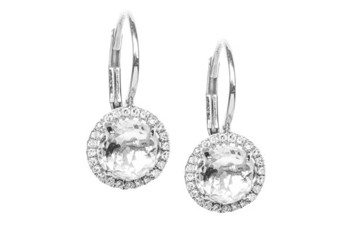 Diamond-White-Topaz-Drop-Earrings-White-Gold