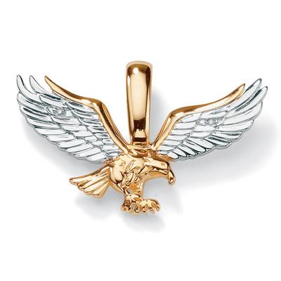 Men's+10k+Gold+Eagle+Pendant