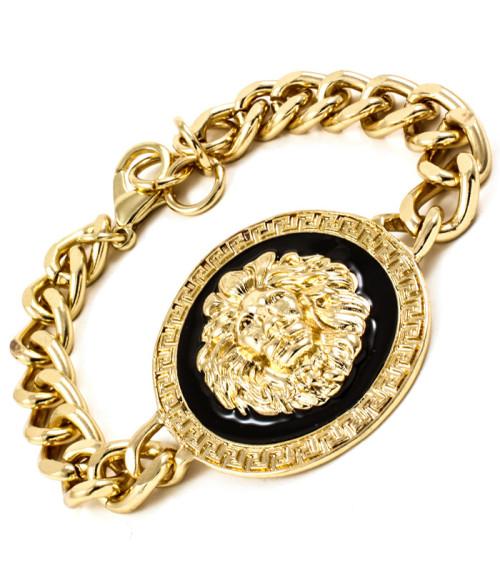 Versace-Inspired-Lion-Bracelet