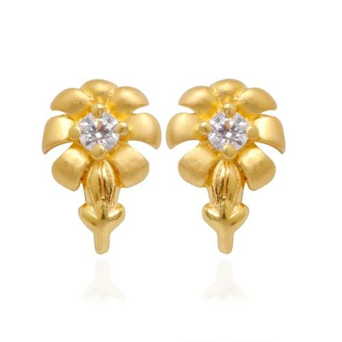 gold-flower-stud-earrings-11