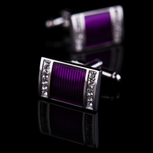 purple-metal-stoned-stylish-cufflinks-for-men