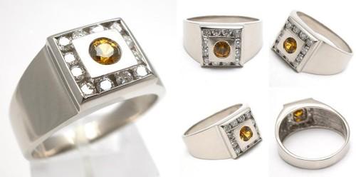 wm6086-estate-mens-jewelry-garnet-diamond-ring-18k
